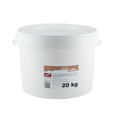 Kala Namak Salz Granulat aus Indien 20 kg Vorteilseimer
