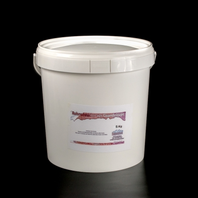 Demerara Rohrohrzucker dunkel aus Guadeloupe 5kg Eimer