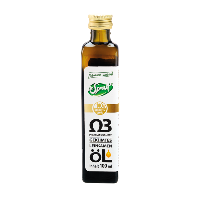 Bio Leinsamen-Keimöl - 100 ml