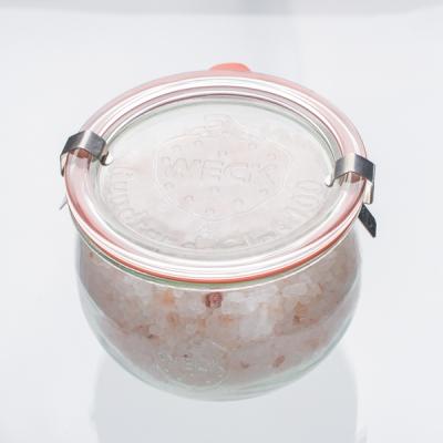 Natürliches Badesalz Orangen 400g im Glas